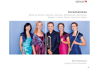 Quintessenz & Leipzig Flute Ensemble - Incantations - (CD)