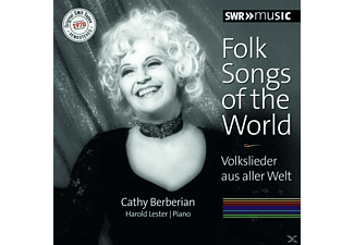 Berberian,Cathy/Lester,Harold - Folk Songs Of The World - (CD)