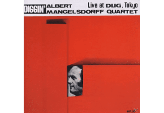 Albert Quartet Mangelsdorff - Live at Dug - (CD)