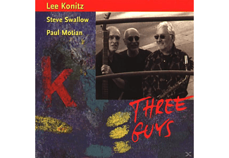 Paul Motian - THREE GUYS - (CD)