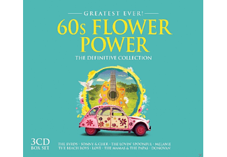 VARIOUS - 60s Flower Pop-Greatest Ever - (CD)