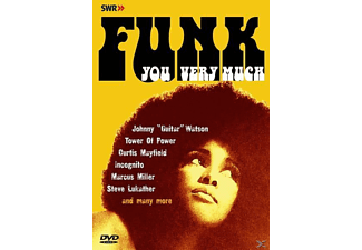 VARIOUS - Funk You Very Much - (DVD)