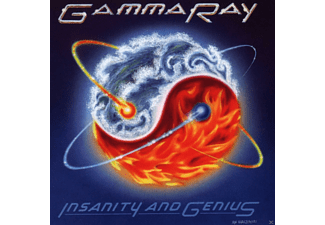 Gamma Ray Insanity And Genius (Anniversary Edition) CD