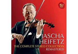 Jascha Heifetz - Jascha Heifetz-Compl.Stereo Collection Remastd. - (CD)