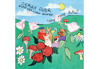 Jerry Paper - Toon Time Raw! - (CD)