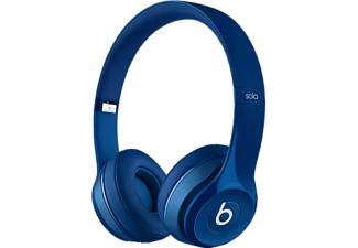 BEATS MHBJ2ZE/A Solo2 On-Ear Headphones - Gloss Blue