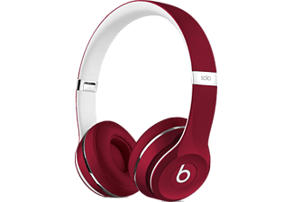 BEATS ML9G2ZE/A Solo2 On-Ear Headphones (Luxe Edition) - Red