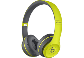 BEATS MKQ12ZE/A Solo2 Wireless Headphones, Active Collection - Shock Yellow
