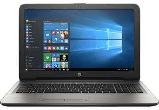 HP 15-AY010NG, Notebook mit 15.6 Zoll Display, Core i5 Prozessor, 8 GB RAM, 256 GB SSD, Radeon R5 M430, Silber