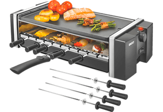 UNOLD 58515 GRILL & KEBAB, Raclette