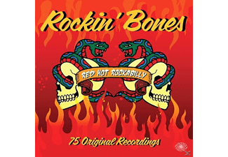VARIOUS - Rockin' Bones (Red Hot Rockabilly) - (Vinyl)