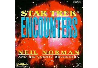 Neil Norman & his Cosmic Orchestra - Star Trek Encounters - (Maxi Single CD)