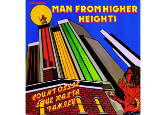 Count Ossie, The Rasta Family - Man From Higher Heights - (CD)