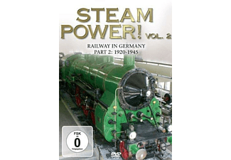 Steam Power 2! Railway In Germany 1920-1945 - (DVD)