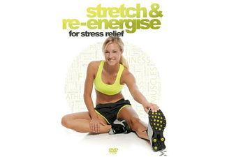 Stretch & Re-Energise for stress relief - (DVD)
