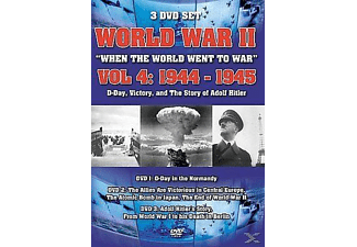 Wwiivol 4:D-Day, Victory, The Story Of Adolf Hitler - (DVD)