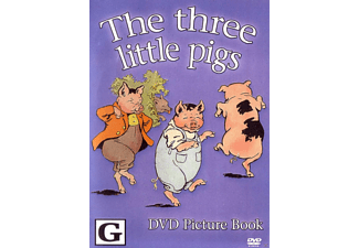 The Three Little Pigs - (DVD)