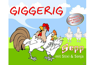 Sepp Mit Stixi & Sonja - Giggerig [Maxi Single CD]