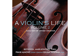 Frank Almond, William Wolfram - A Violin's Life Vol.2 - (CD)