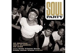 VARIOUS - Soul Party - (CD)