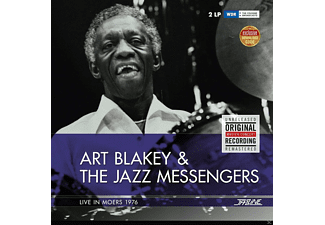 Art Blakey and the Jazz Messengers - Art Blakey-1976 Moers - (LP + Download)