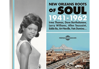 VARIOUS - New Orleans Roots Of Soul 1941-1962 - (CD)