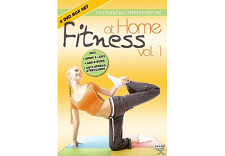 Fitness At Home: Box Set 1 - (DVD)