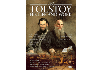Leo Tolstoy - His Life and Work - (DVD + CD)