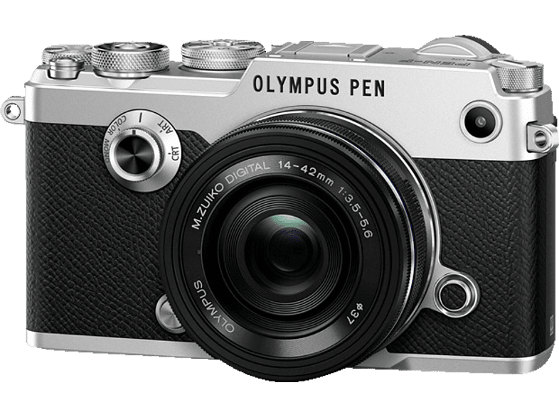 OLYMPUS PEN-F Pancake Kit EZ-M 14-42mm EZ Silver - (V204061SE000) photo   video   offline φωτογραφικές μηχανές mirrorless cameras hobby   φωτογραφ