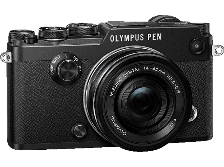 OLYMPUS PEN-F Pancake Kit EZ-M 14-42mm EZ Black - (V204061BE000) photo   video   offline φωτογραφικές μηχανές mirrorless cameras hobby   φωτογραφ