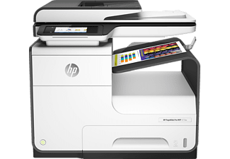 HP PageWide Pro 477dw, 4-in-1 Multifunktionsdrucker, Weiß