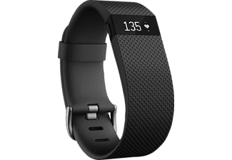 FITBIT Charge HR FB405BKL-EU Black Large