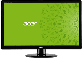 ACER S230HLBBII 23 inç 5 ms Analog+ 2xHDMI  Full HD LED Monitör Siyah