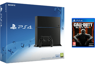 SONY PlayStation 4 (inkl Call of Duty: Black Ops III) - 500 GB