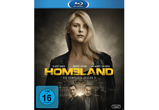 Homeland 5. Staffel - (Blu-ray)