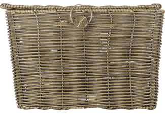 DRESCO Fietsmand Wicker Outdoor