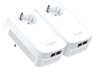 TP-LINK Powerline 2000 Kit mit Steckdose, weiß (TL-PA9020P KIT)