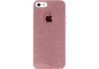 PURO PU170942 Backcover Apple iPhone 5, iPhone 5s, iPhone SE Polycarbonat/Thermoplastisches Polyurethan Rotgold