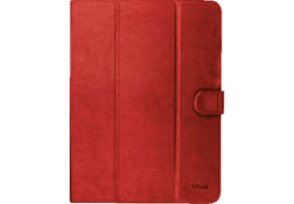 TRUST AEXXO Universal Folio Case For 10.1'' Tablets Red - (21206)