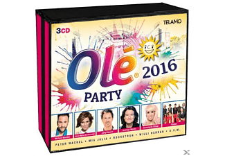 VARIOUS - Olé Party 2016 (3CD) - (CD)