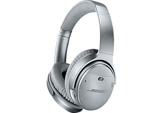 BOSE QuietComfort 35, Over-ear Kopfhörer, Bluetooth, Silber