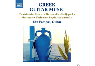 Eva Fampas - Greek Guitar Music - (CD)