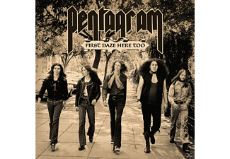 Pentagram - First Daze Here Too (Ltd Green 2LP Reissue+MP3) - (LP + Download)