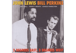 Lewis,John/Perkins,Bill - 2 Degrees East,3 Degrees West - (CD)