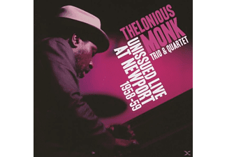 Thelonious Monk - Unissued Live At Newport 1958-59 - (CD)
