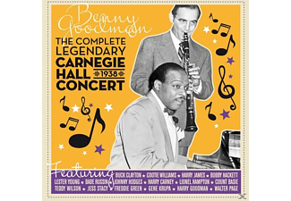 Benny Goodman - The Complete Legendary 1938 Carnegie Hall Concert - (CD)