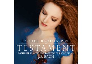 Rachel Barton Pine - Testament-Complete Sonatas And Partitas [CD]