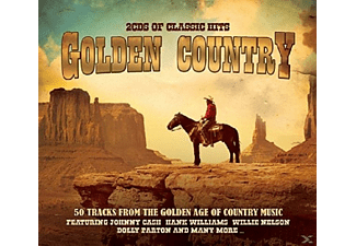 VARIOUS - Golden Country - (CD)