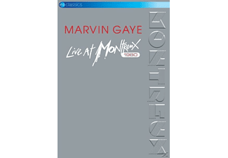 Marvin Gaye Live At Montreux 1980 DVD