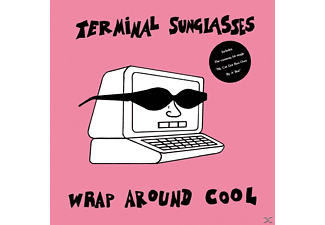 Terminal Sunglasses - Wrap Around Cool (Pink Vinyl) - (Vinyl)